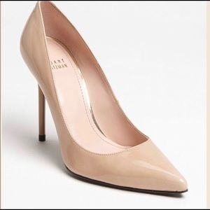 Stuart Weitzman Patent Leather Pumps